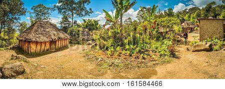 Village In Papua