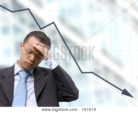 Business Worries With Graph