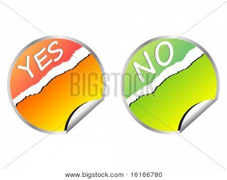 validation stickers vector illustration