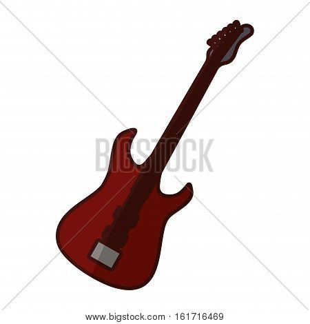 bass guitar icon image vector illustration design