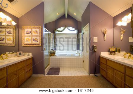 Residential Master Bath Room