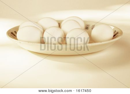 Eggs On A Platter