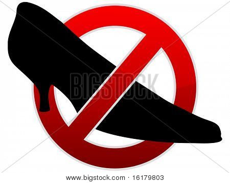 (raster image of vector) forbidden background
