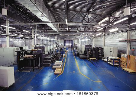 Manufacturing Printing And Cutting Packaging, Presses And Cutters