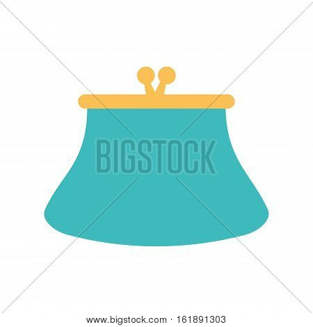 purse wallet money saving vector illustration eps 10