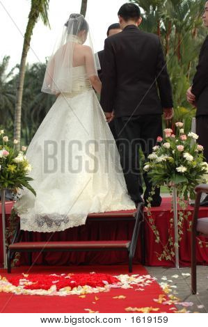 Couple At The Altar