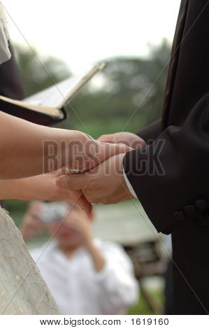 Clasping Hands