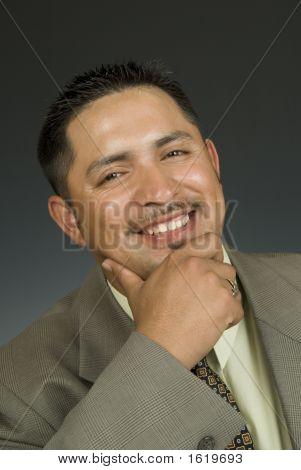 Smiling Latino