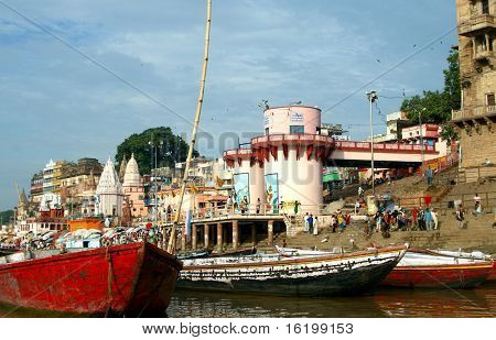 Ganga River - holy place for all hindu people