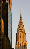 detail of Chrysler building, Manhattan, New York City, USA