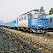 picture of motor coach  - motor locomotive of a class 80 - JPG