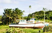 fishing boats, Skeete's Bay, Barbados