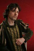 Man In Medieval Dress poster