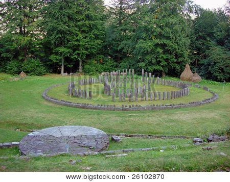 Romania. Sarmizegetusa Regia - the capital of the Dacian kingdom