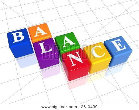 Evenwicht In kleur