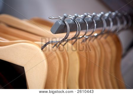 Hangers In A Row