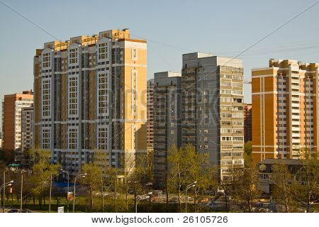 Moscow. Urban district