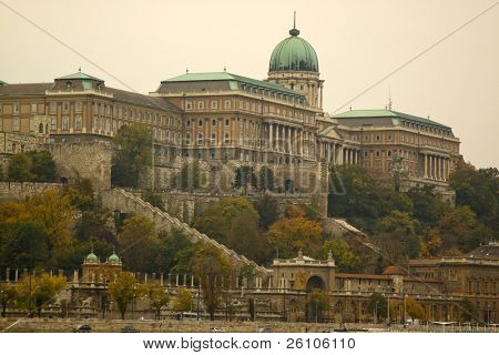 Autumn in Budapest, Buda castle
