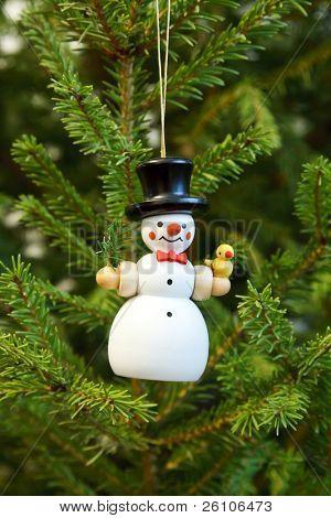 Funny christmas toys. Snowman