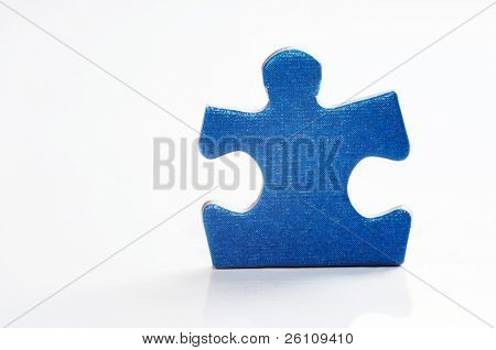 puzzle on white