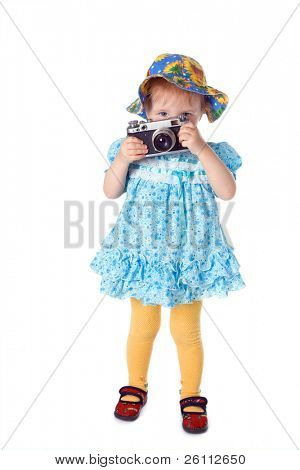beauty baby photographer  over white
