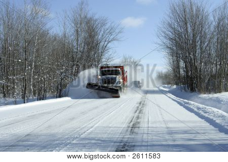 Snowplow In Action