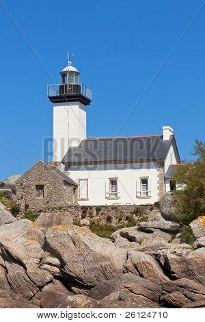 Point De Pontusval Lighthouse