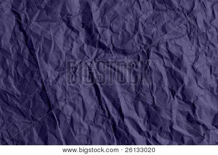 lila zerknittertes Papier