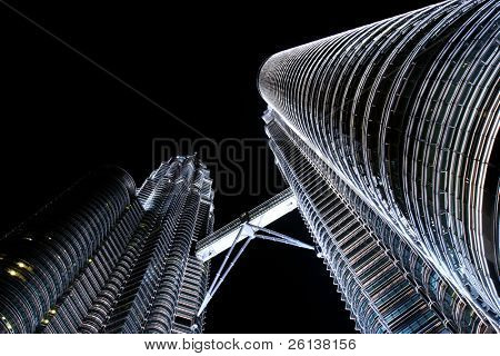 Torres Petronas de noche