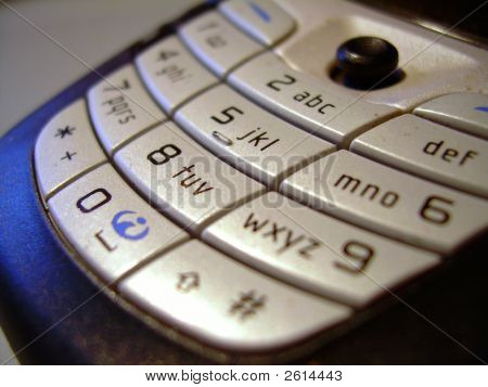 Cellphone Buttons