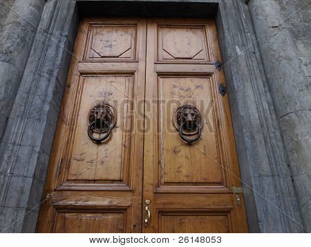 Wooden Tuscan Doors