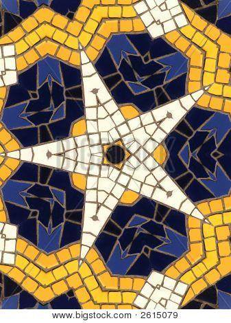 Star Mosaic Pattern