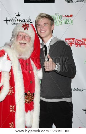 LOS ANGELES - NOV 27:  Kenton Duty arrives at the 2011 Hollywood Christmas Parade at Hollywood Boulevard at Sycamore on November 27, 2011 in Los Angeles, CA