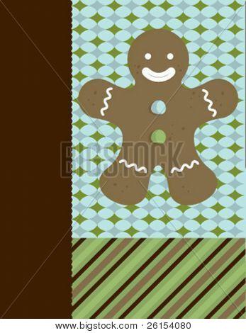 Chirstmas Card Cookie