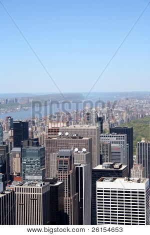 View of Manhattan and part of Central Park