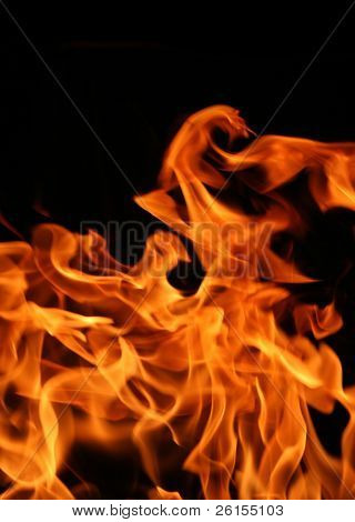 Fire of Flames for background use