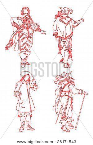European Suits Of Xvii Age