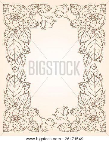 Floral Decorative Scope