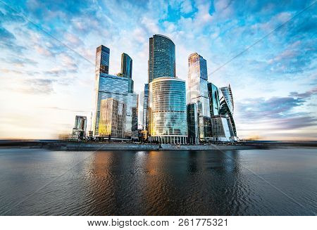 Moscow City Skyline Moscow International