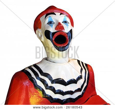 Red Sideshow Clown