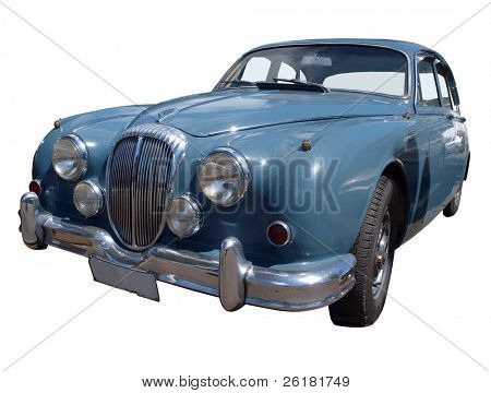 1964 Daimler V8 Isolated with clipping path