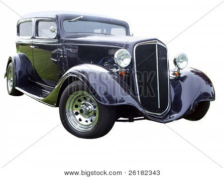 1934 Sedan isolated with clipping path