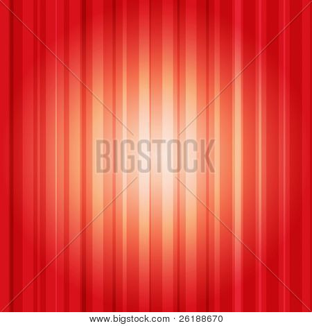 Abstract red lines vector