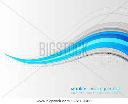 EPS10 Colorful lines - vector abstract background