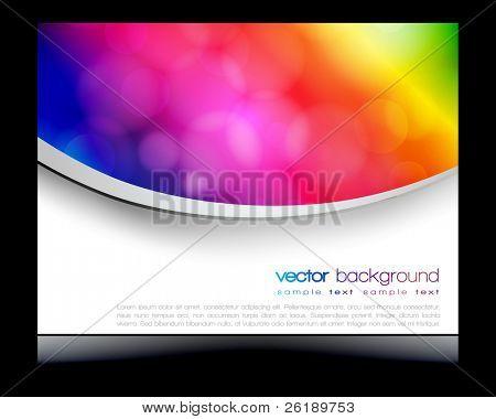 EPS10 colorful circles vector design