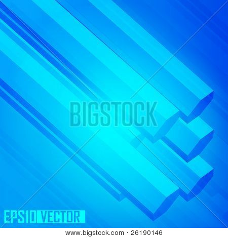 EPS10 3D transparent polygon abstract vector background