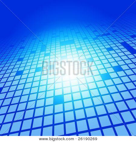 EPS10 3D abstracto cuadrados Vector fondo