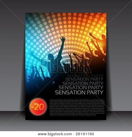 Colorful EPS10 design â?? Sensation Party - Vector Background