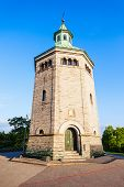 Valbergtarnet Or Valberg Tower In Stavanger, Norway. Valberg Tower Is An Observation Fire Watch Towe poster