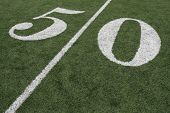 picture of ncaa  - Football Fifty Yard Line - JPG